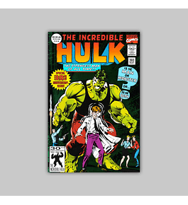 Incredible Hulk 393 Foil 1992