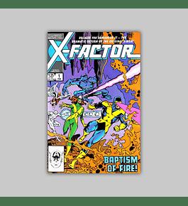 X-Factor 1 1986
