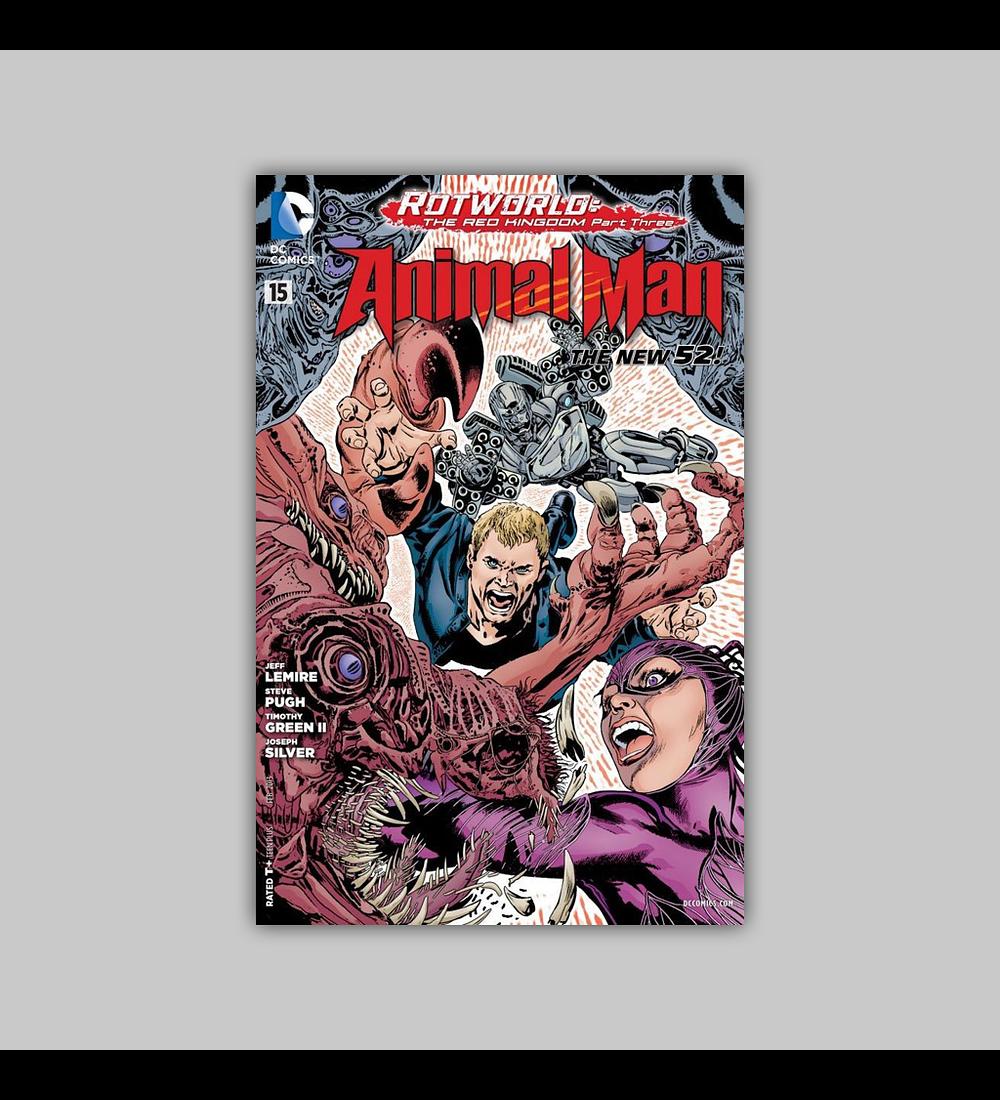 Animal Man (Vol. 2) 15 2013