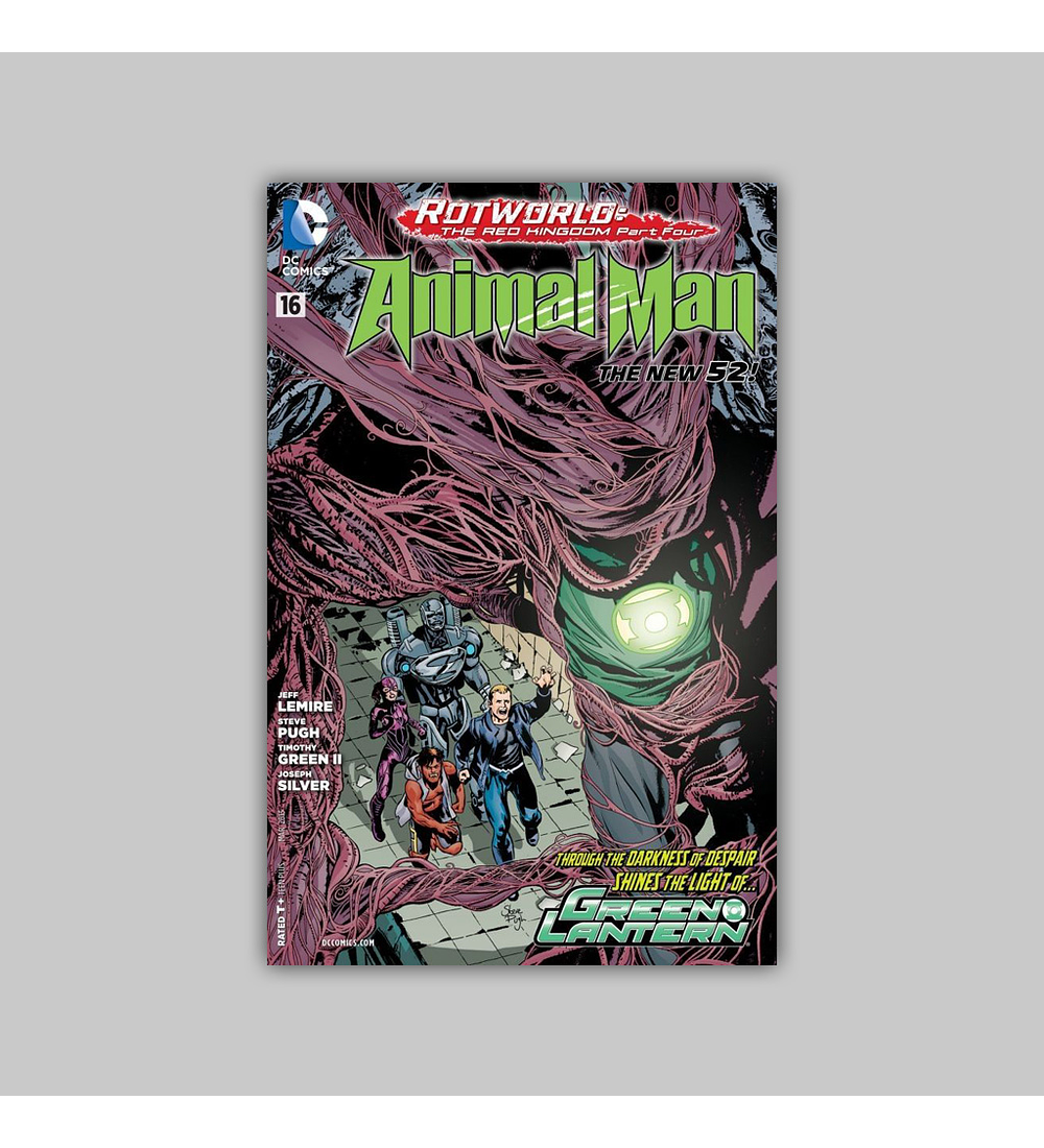 Animal Man (Vol. 2) 16 2013