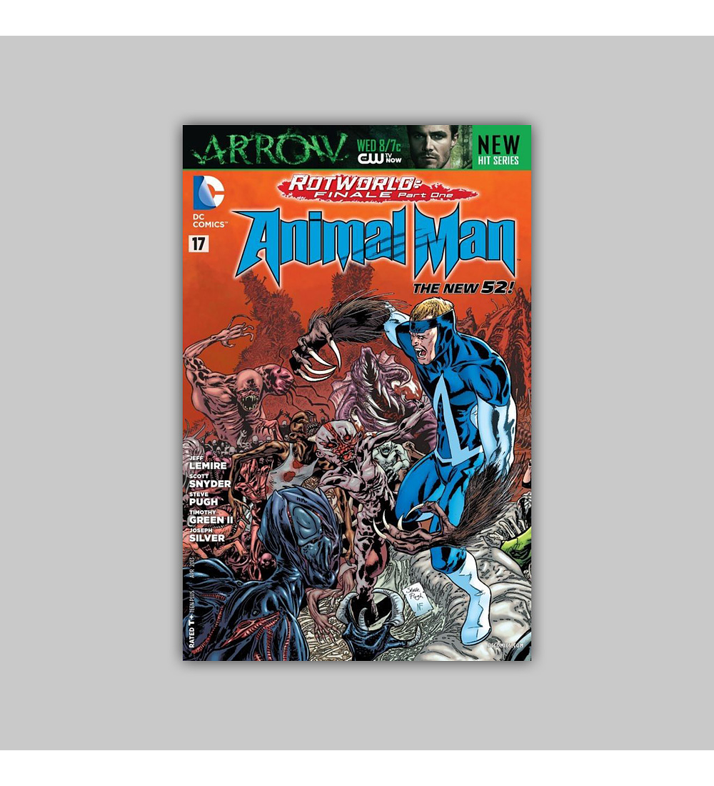 Animal Man (Vol. 2) 17 2013