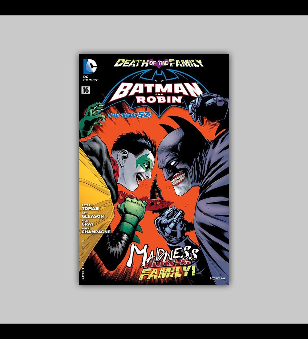 Batman and Robin (Vol. 2) 16 2013