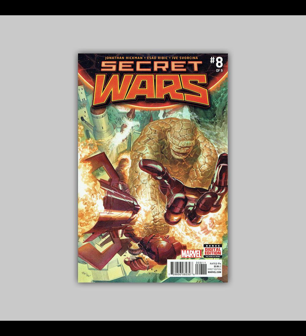 Secret Wars 8 2016