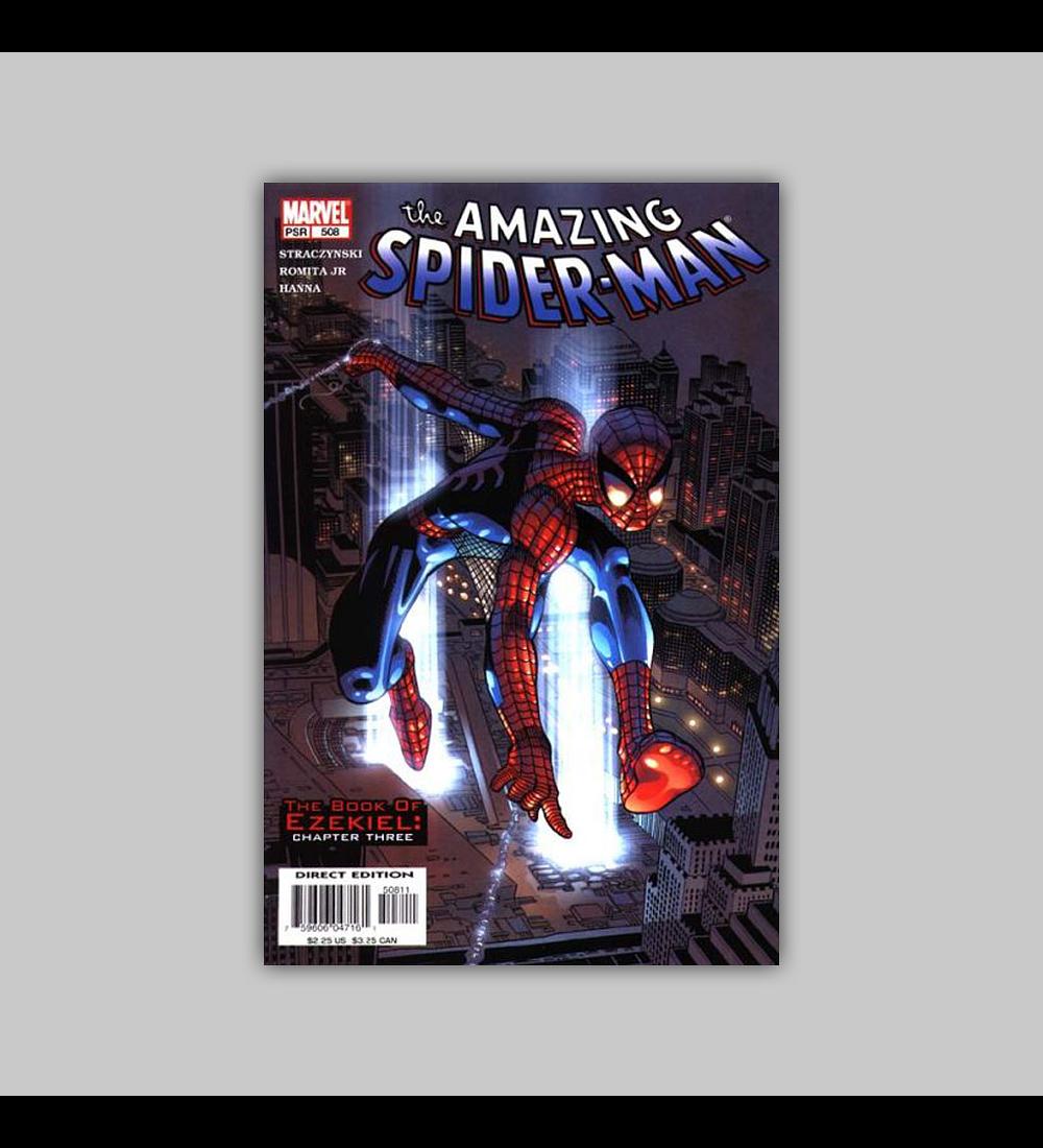 Amazing Spider-Man 508 2004