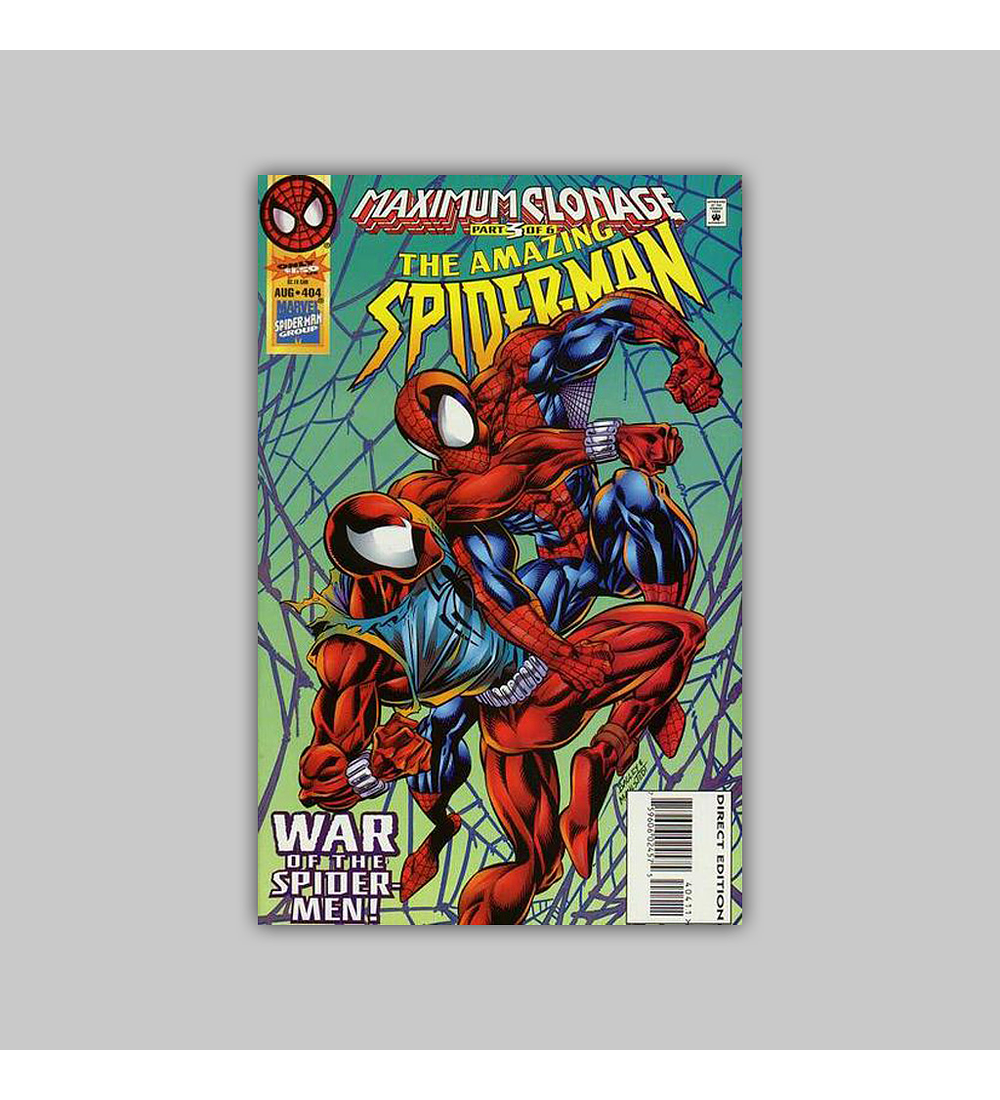 Amazing Spider-Man 404 1995