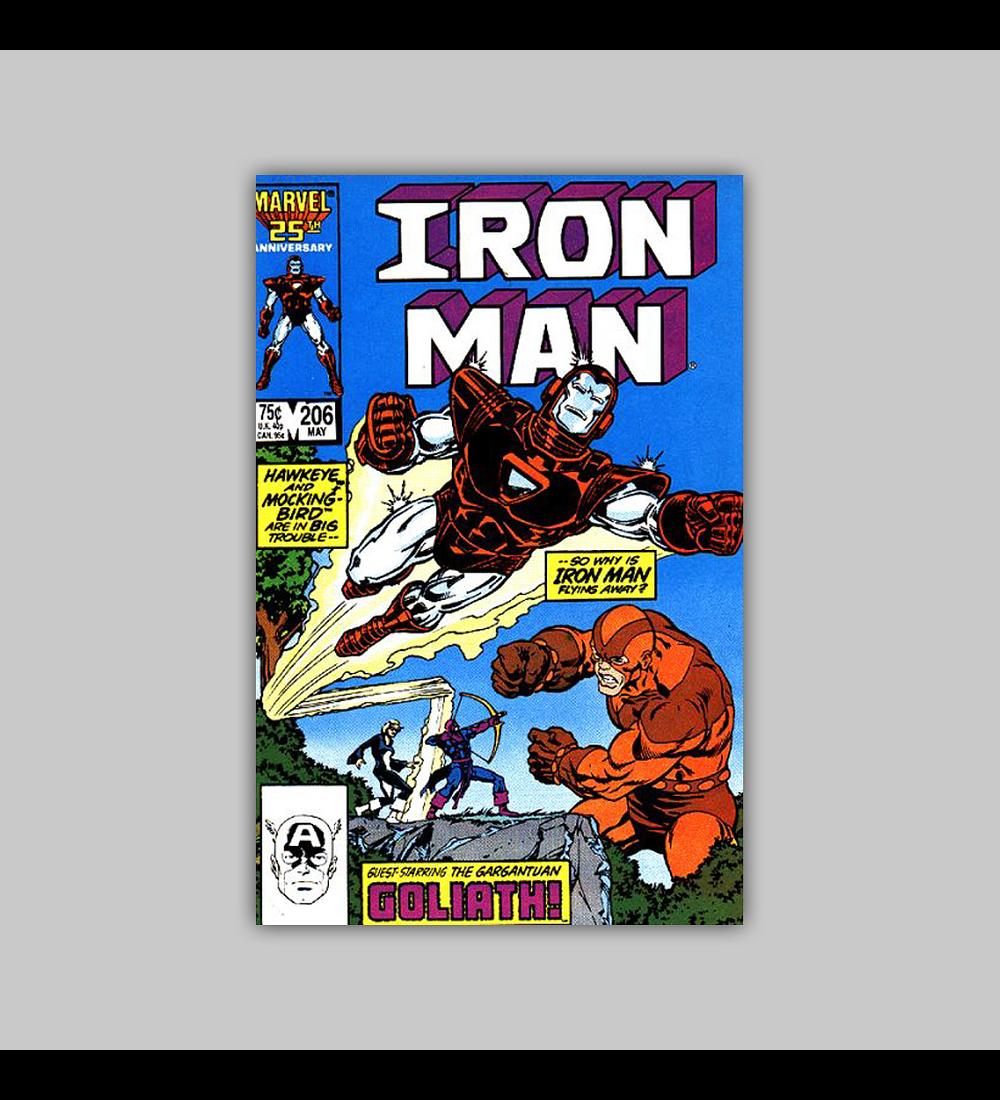 Iron Man 206 1986