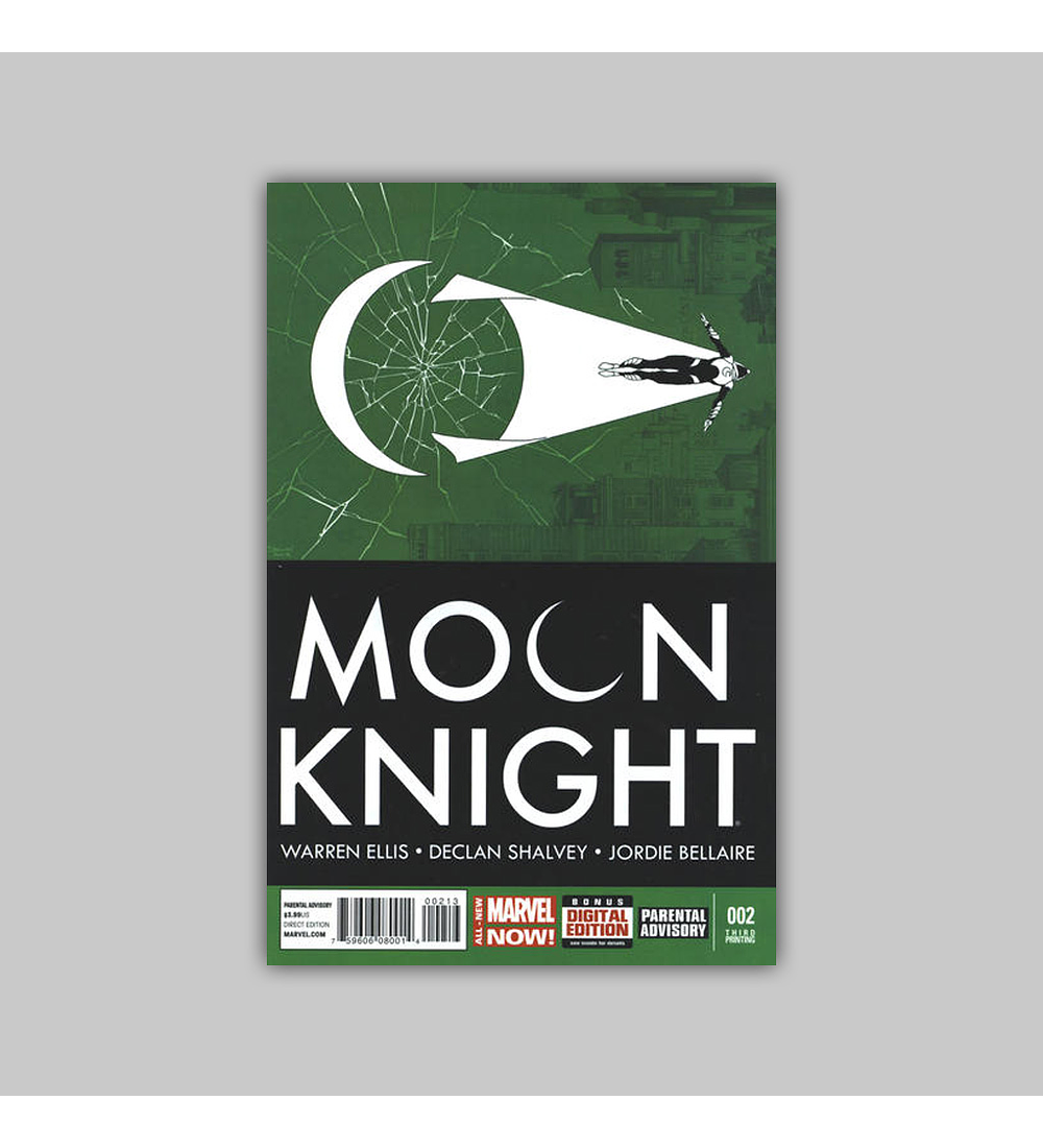 Moon Knight (Vol. 6) 2 3rd Printing 2014