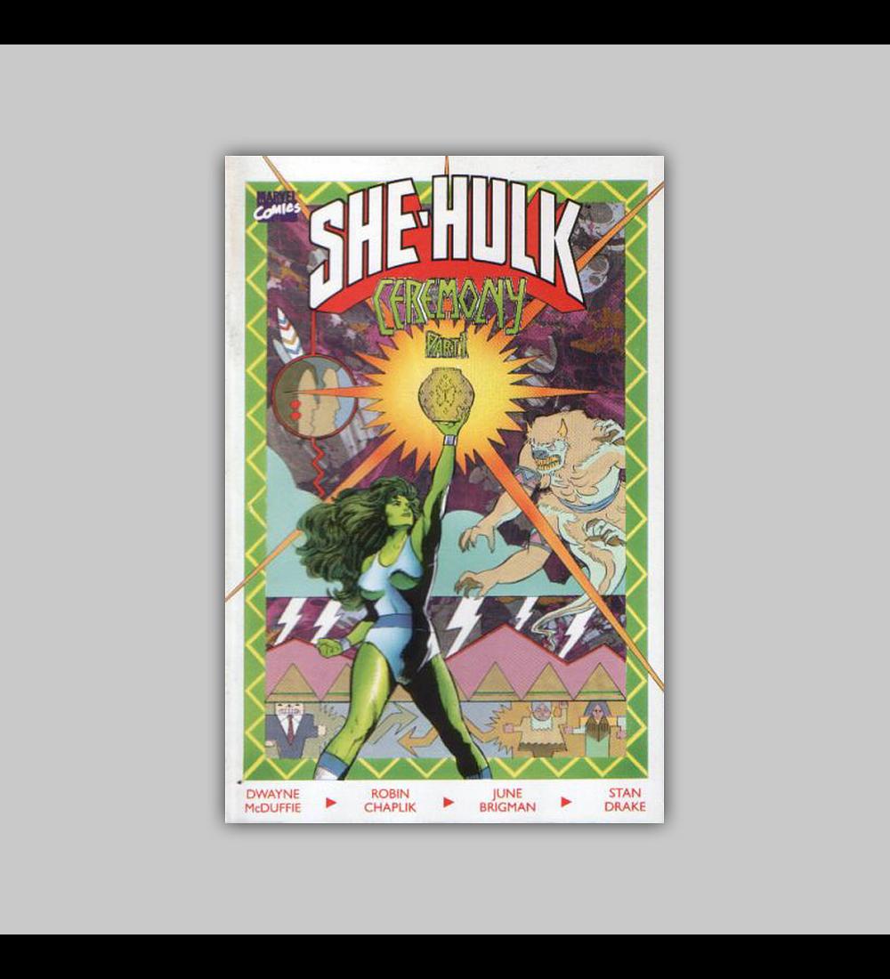 She-Hulk: Ceremony 1 1989