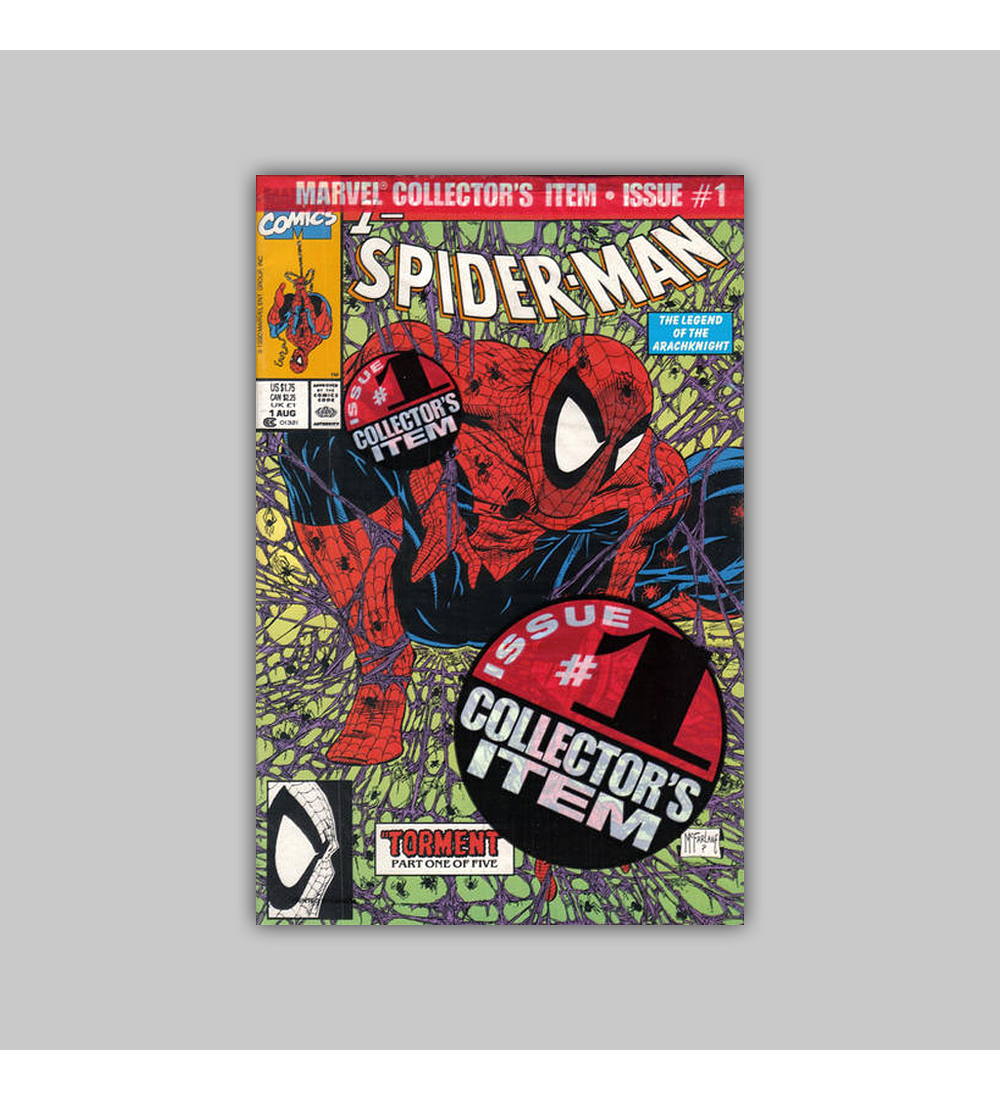 Spider-Man 1 Polybagged 1990