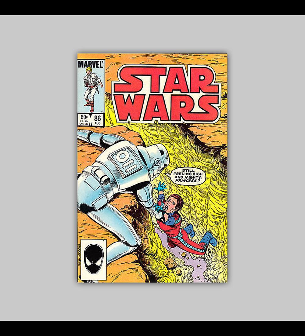 Star Wars 86 VF/NM (9.0) 1984
