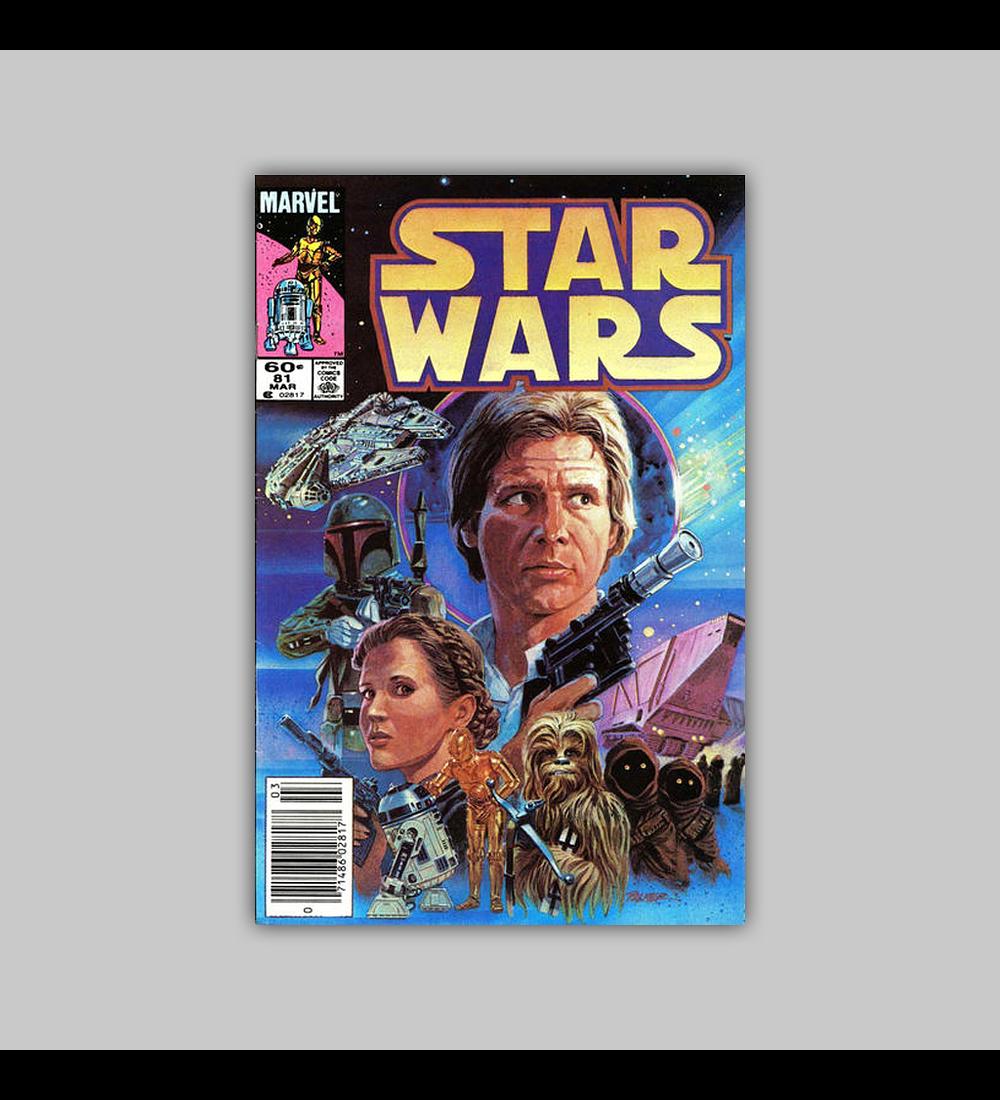 Star Wars 81 VF/NM (9.0) 1984