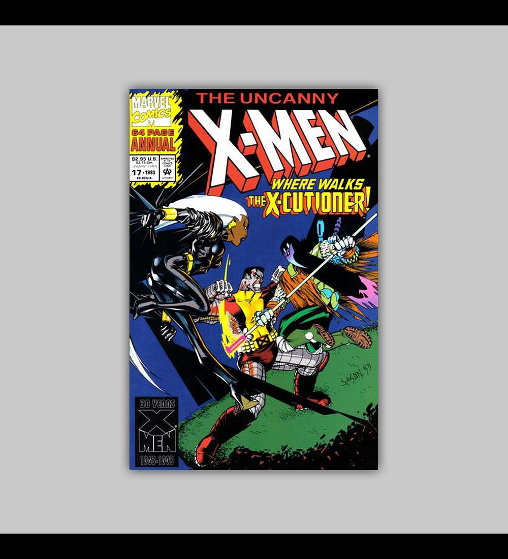 Uncanny X-Men Annual 17 1993