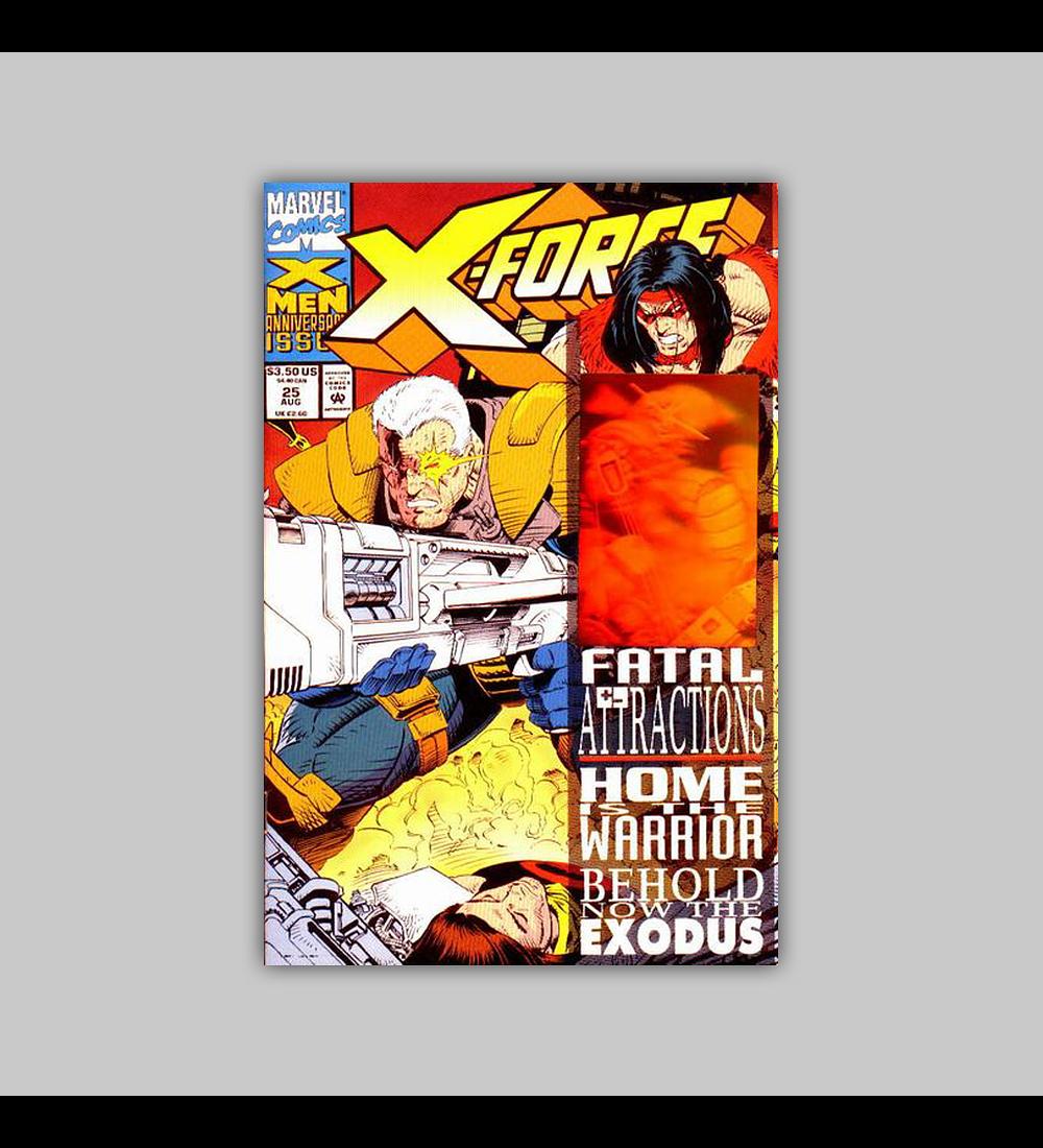 X-Force 25 Hologram 1993