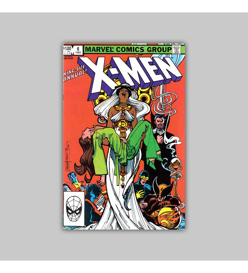 X-Men Annual 6 1982