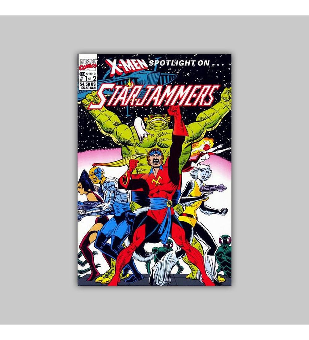X-Men Spotlight On… Starjammers 1 1990