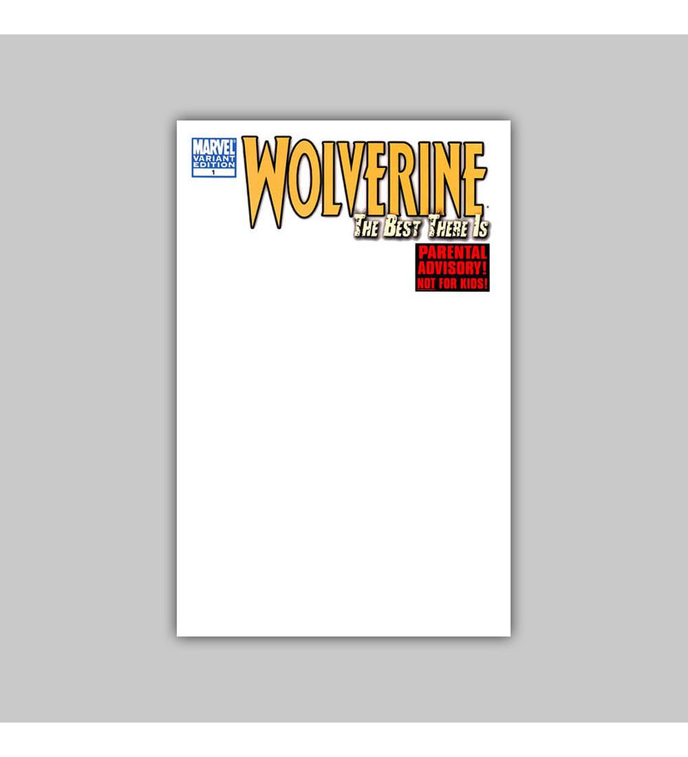 Wolverine: The Best There Is 1 D 2011