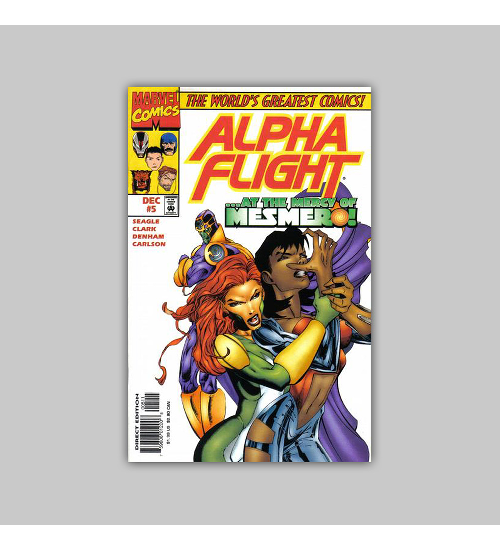 Alpha Flight (Vol. 2) 5 1997