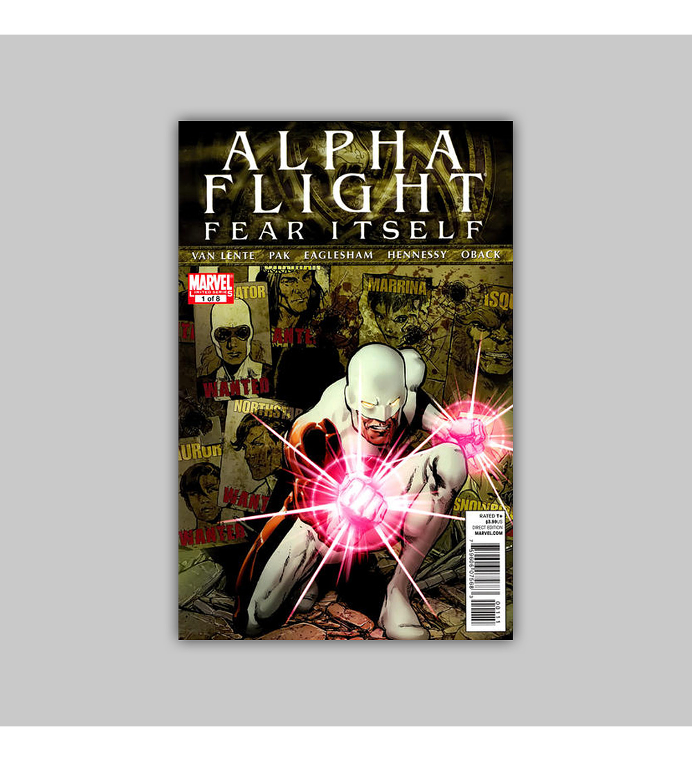 Alpha Flight: Fear Itself 1 2011