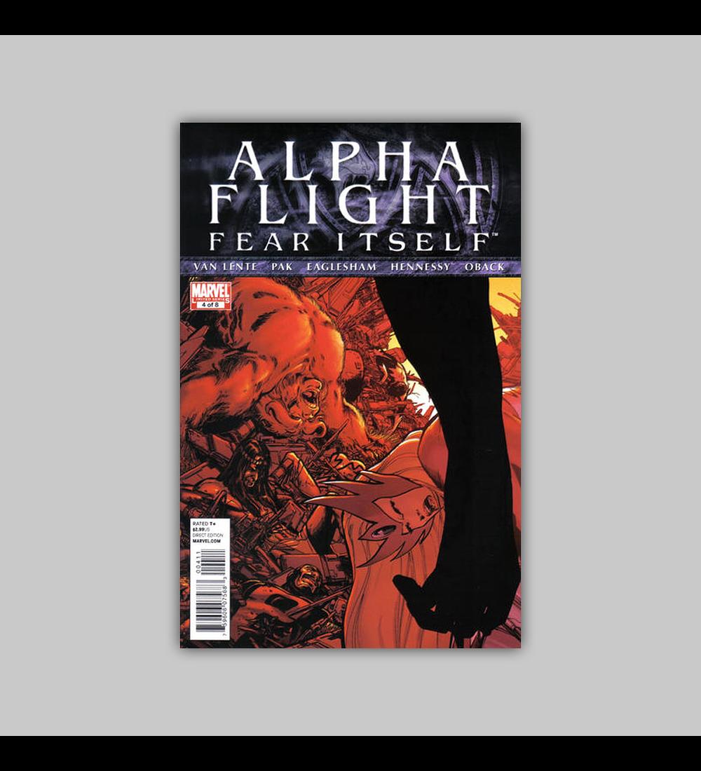 Alpha Flight: Fear Itself 4 2011