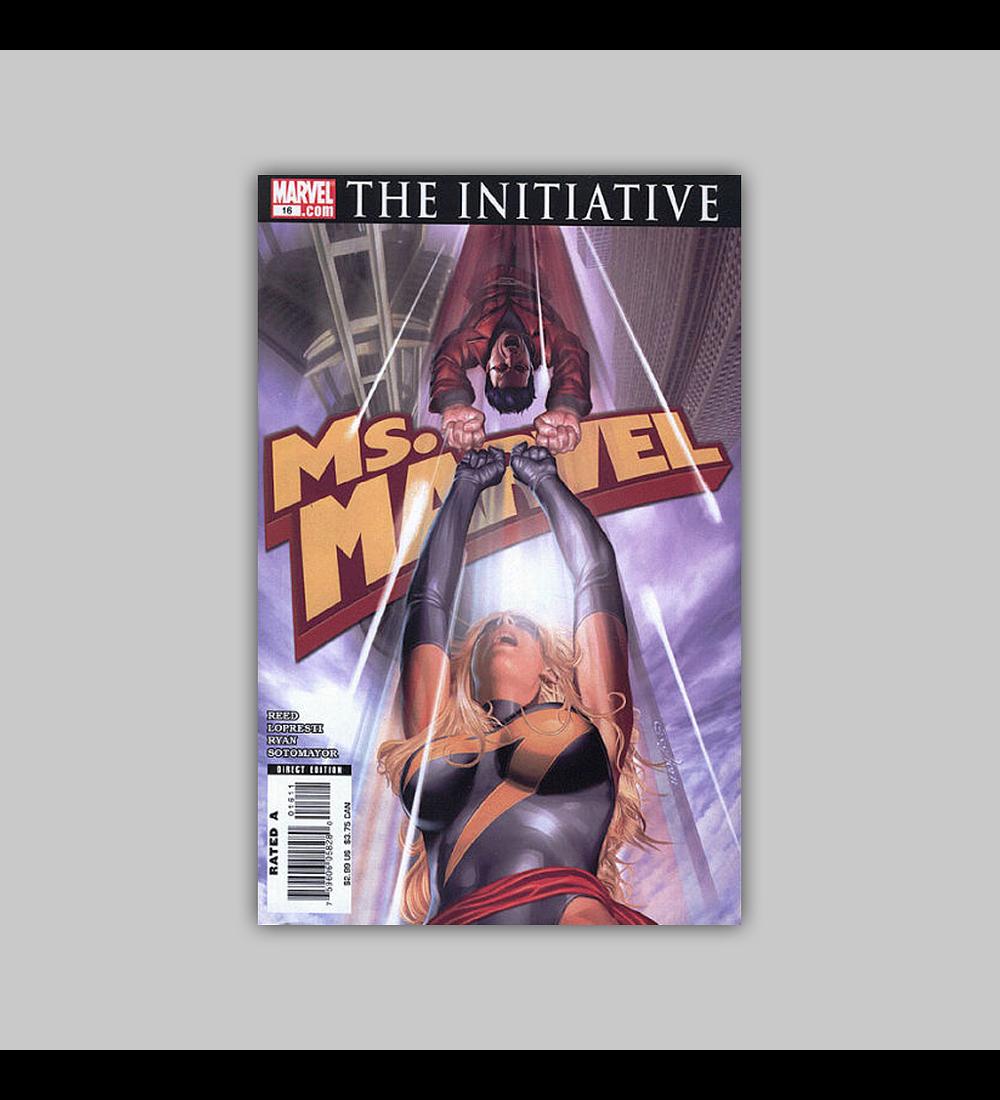 Ms. Marvel 16 2007