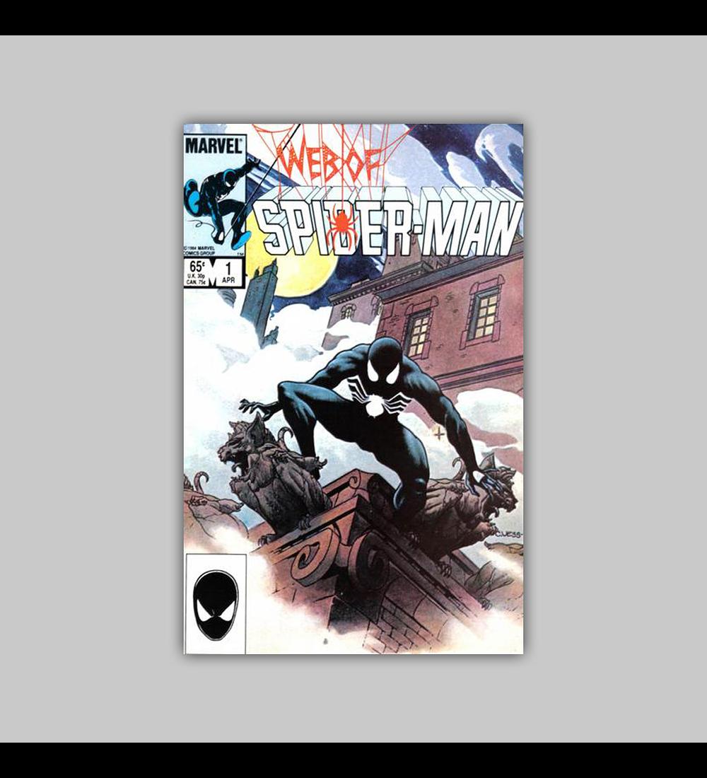 Web of Spider-Man 1 1985
