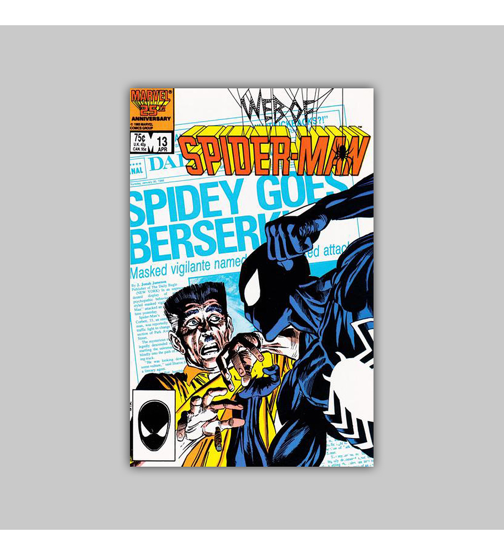 Web of Spider-Man 13 1986