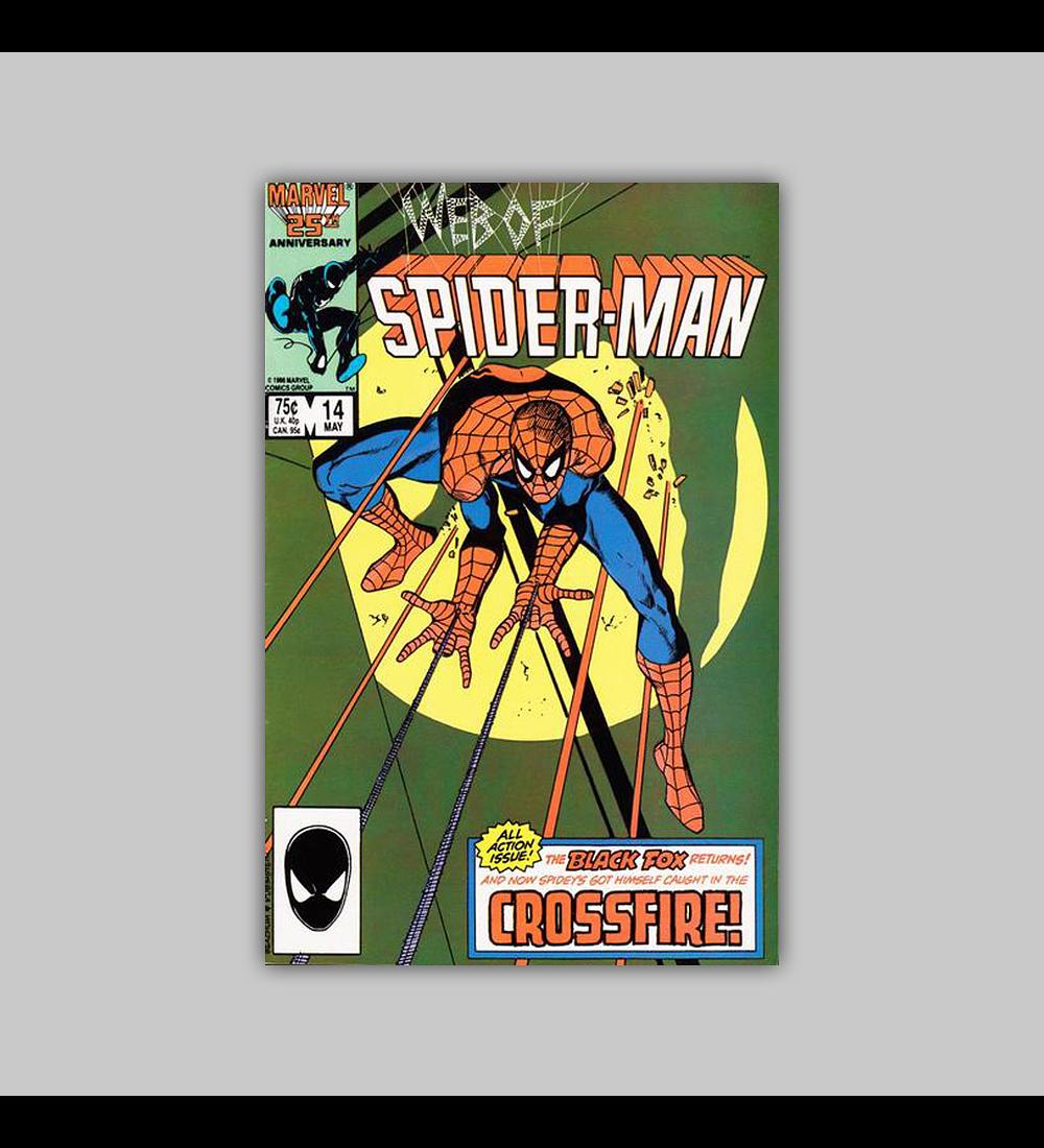 Web of Spider-Man 14 1986