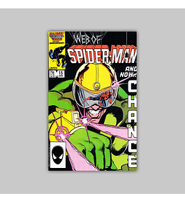 Web of Spider-Man 15 1986