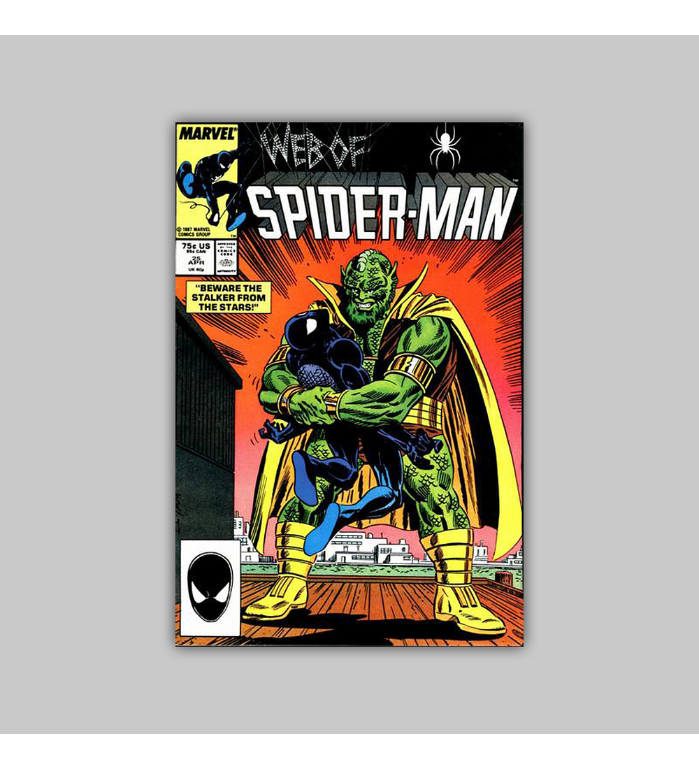 Web of Spider-Man 25 1987