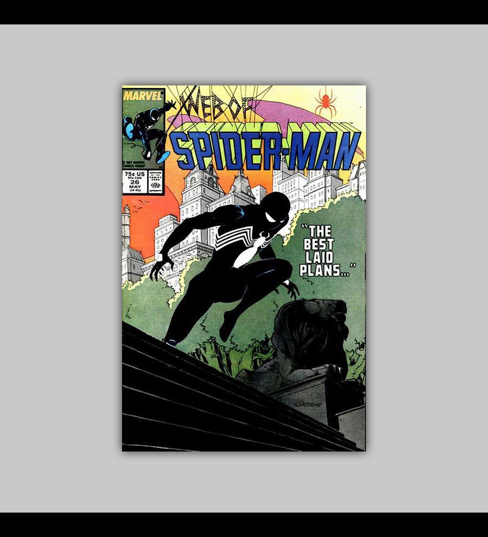 Web of Spider-Man 26 1987