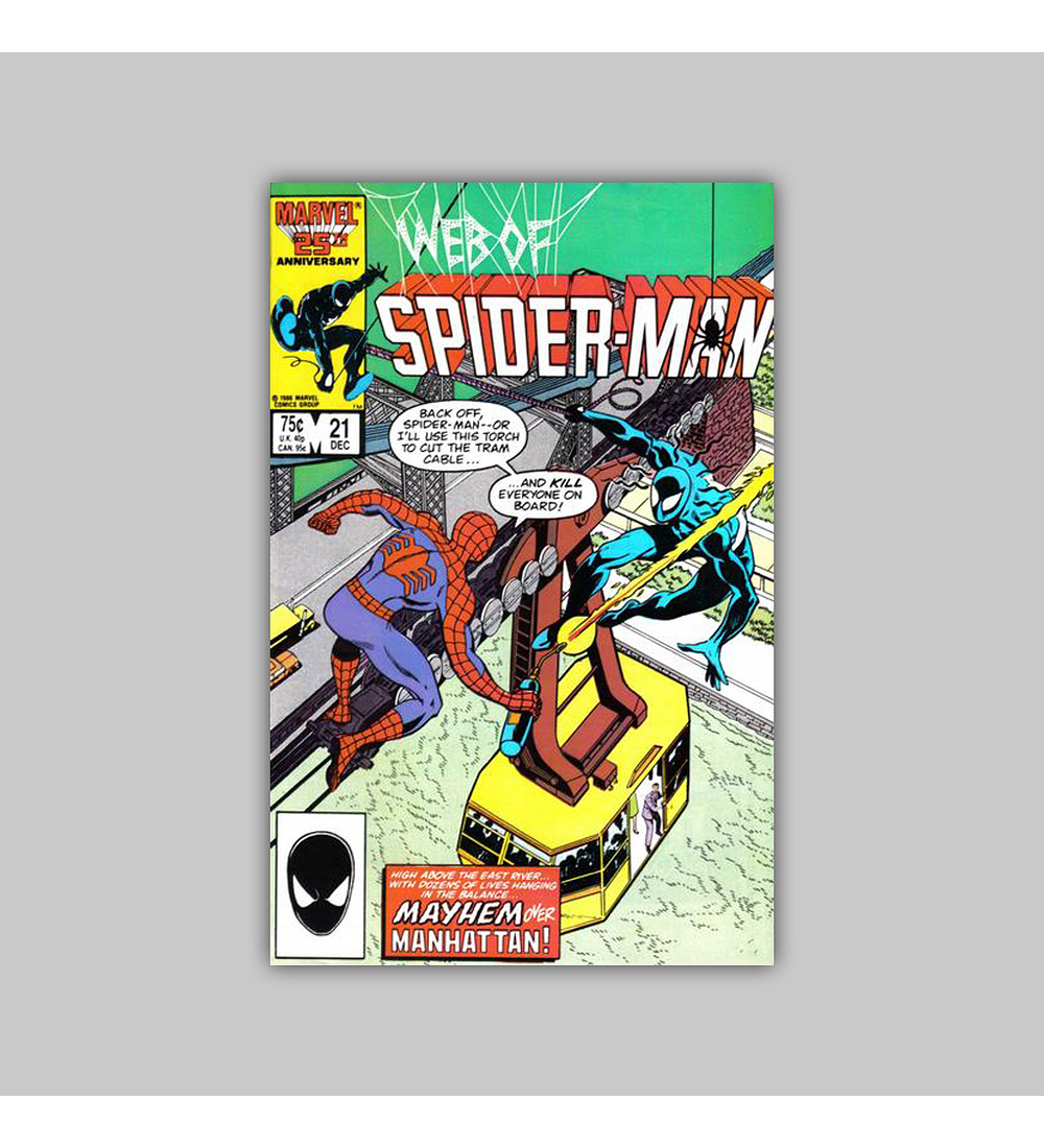 Web of Spider-Man 21 1987