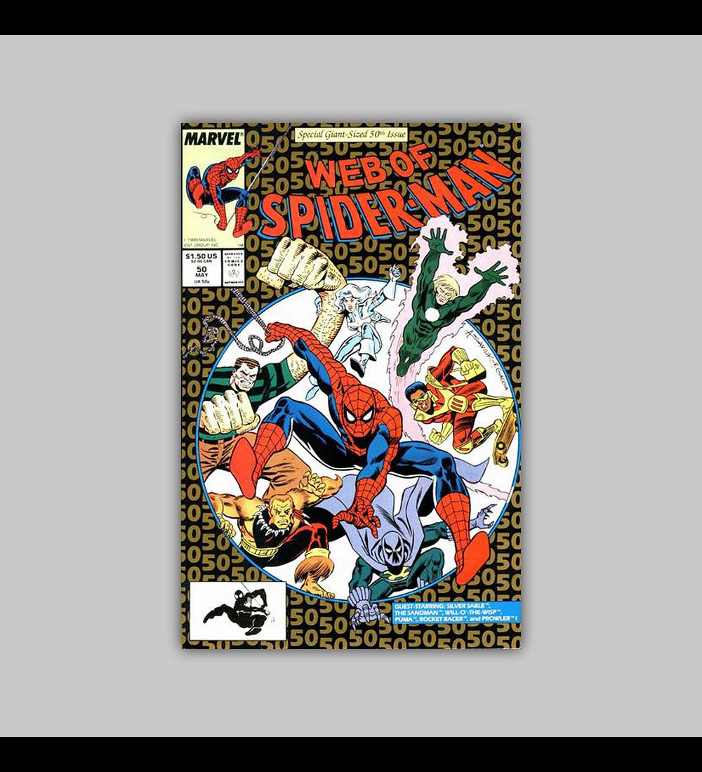 Web of Spider-Man 50 1989