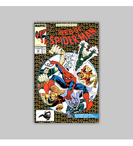 Web of Spider-Man 50 1989