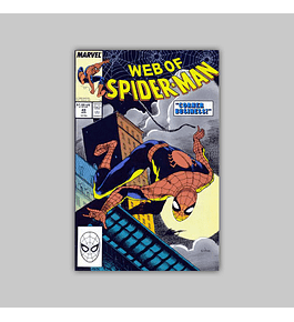 Web of Spider-Man 49 1989