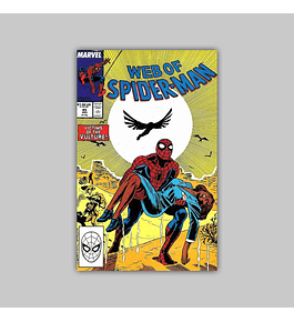 Web of Spider-Man 45 1988
