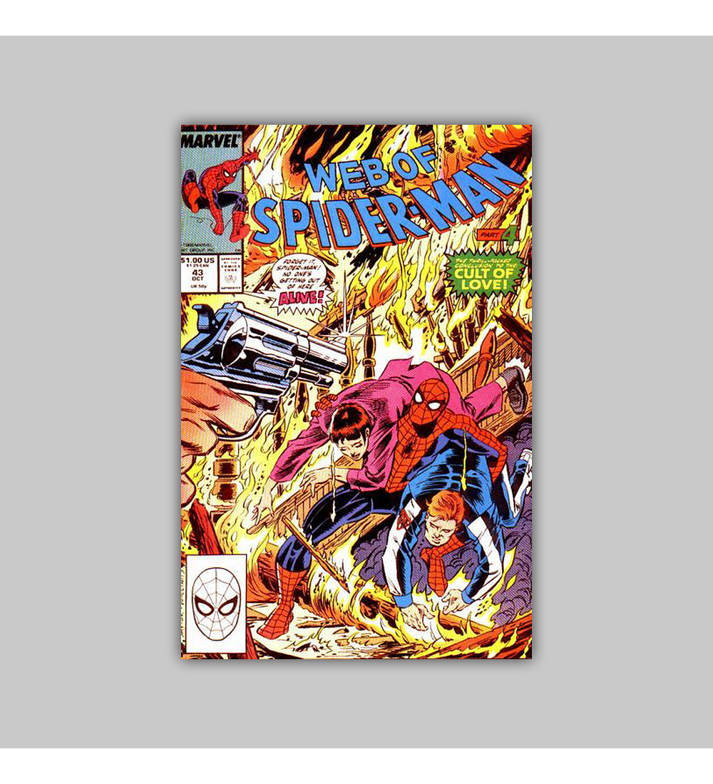 Web of Spider-Man 43 1988