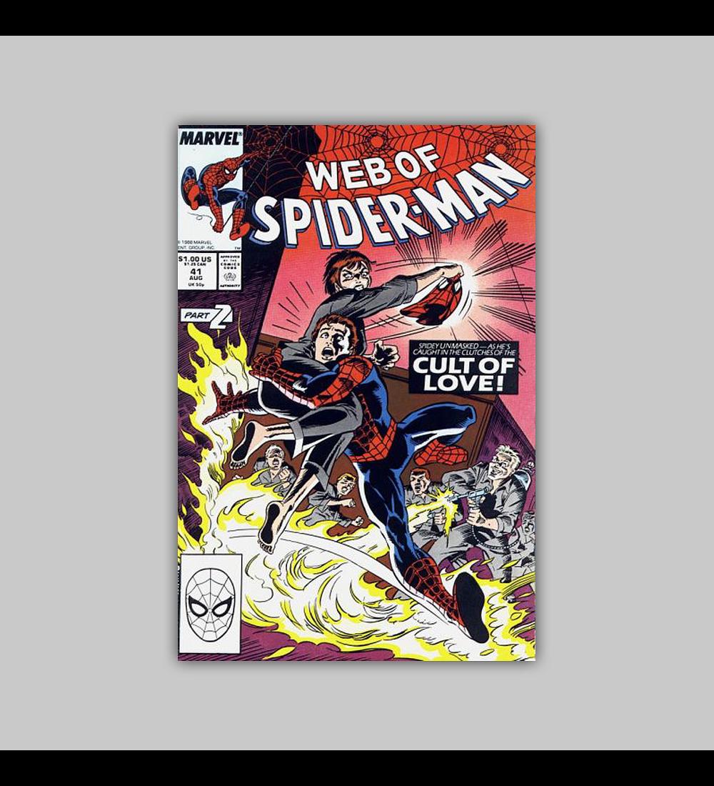 Web of Spider-Man 41 1988