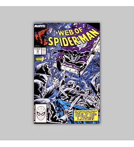 Web of Spider-Man 40 1988
