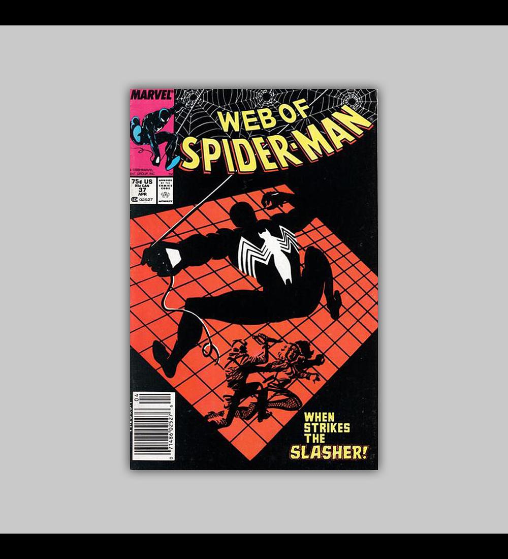 Web of Spider-Man 37 1988