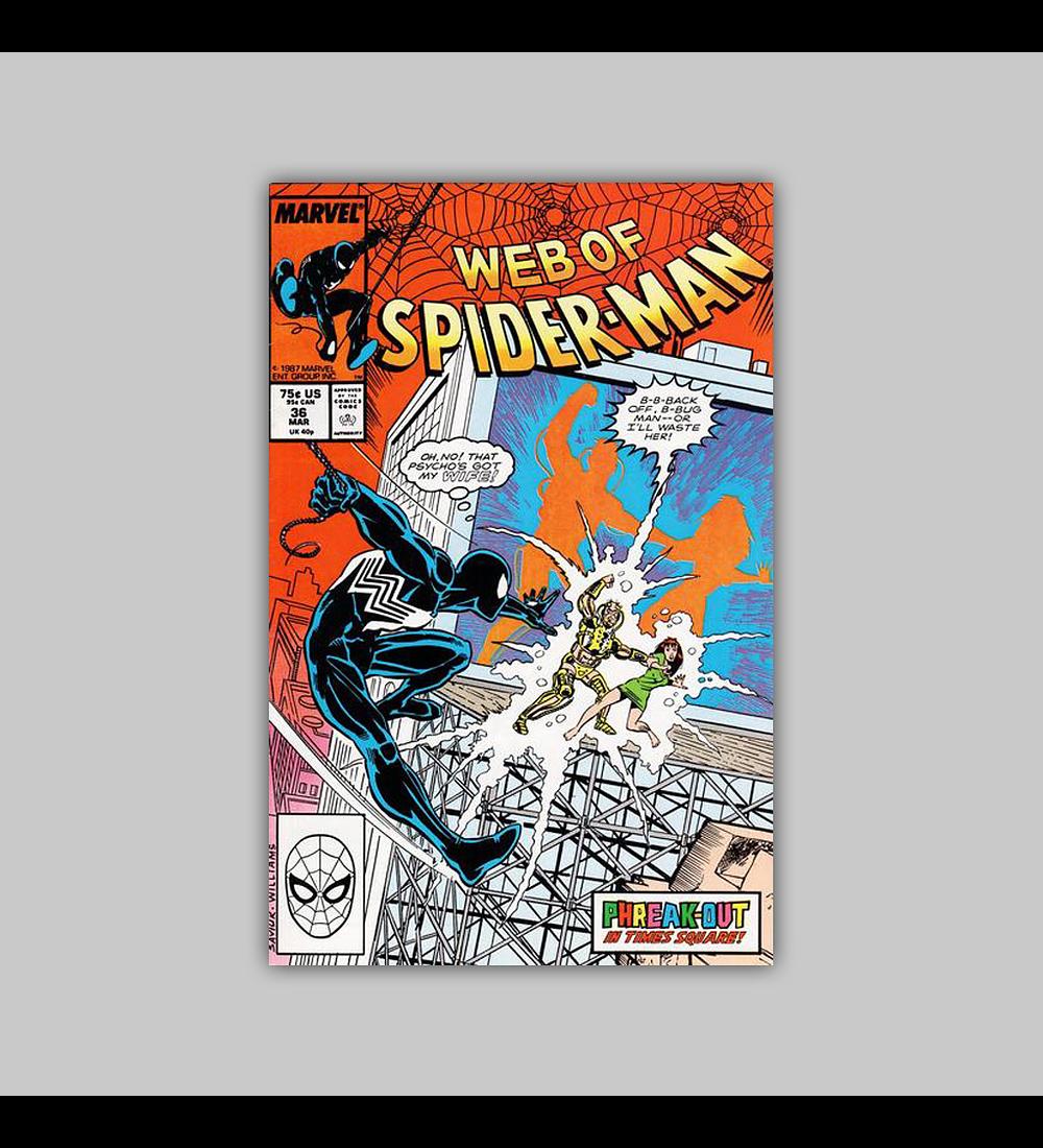 Web of Spider-Man 36 NM (9.2) 1988