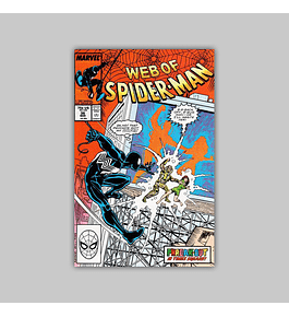 Web of Spider-Man 36 NM (9.2) 1988