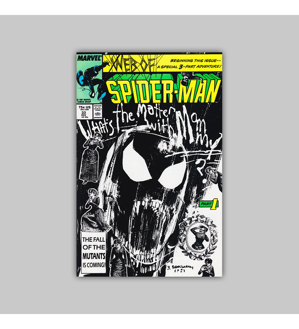 Web of Spider-Man 33 1987