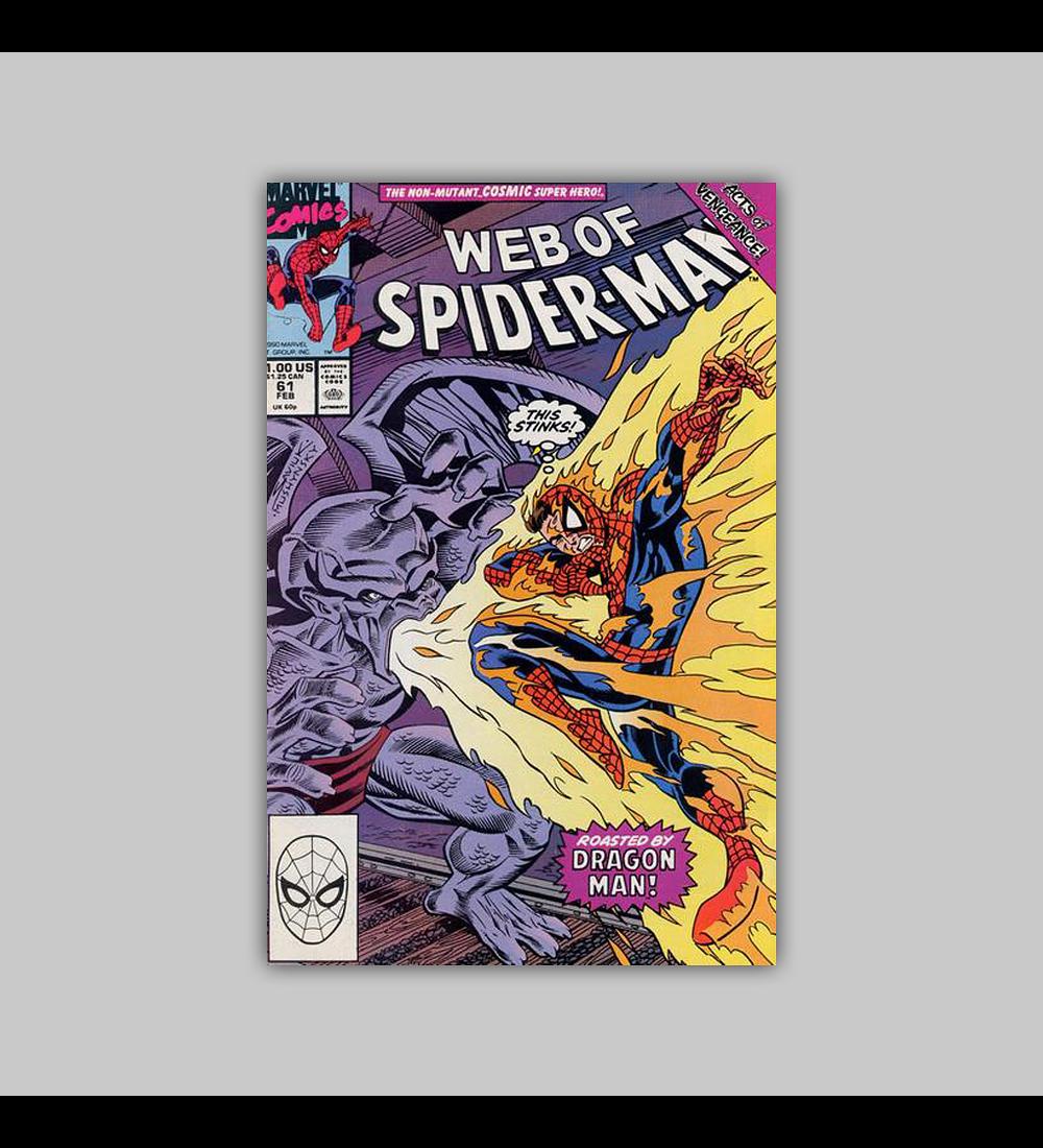 Web of Spider-Man 61 1990
