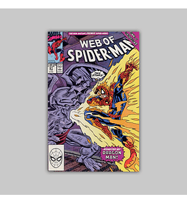 Web of Spider-Man 61 1990