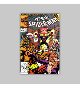 Web of Spider-Man 59 1989