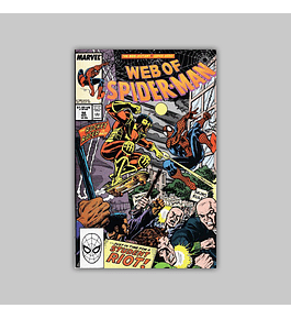 Web of Spider-Man 56 1989