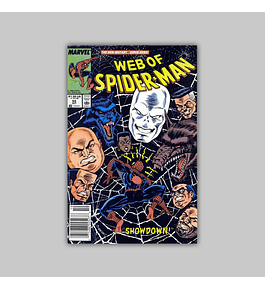 Web of Spider-Man 55 1989