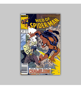 Web of Spider-Man 54 1989
