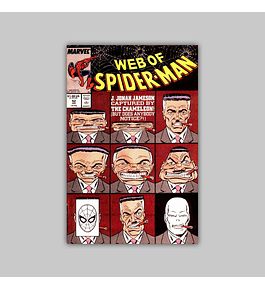 Web of Spider-Man 52 1989