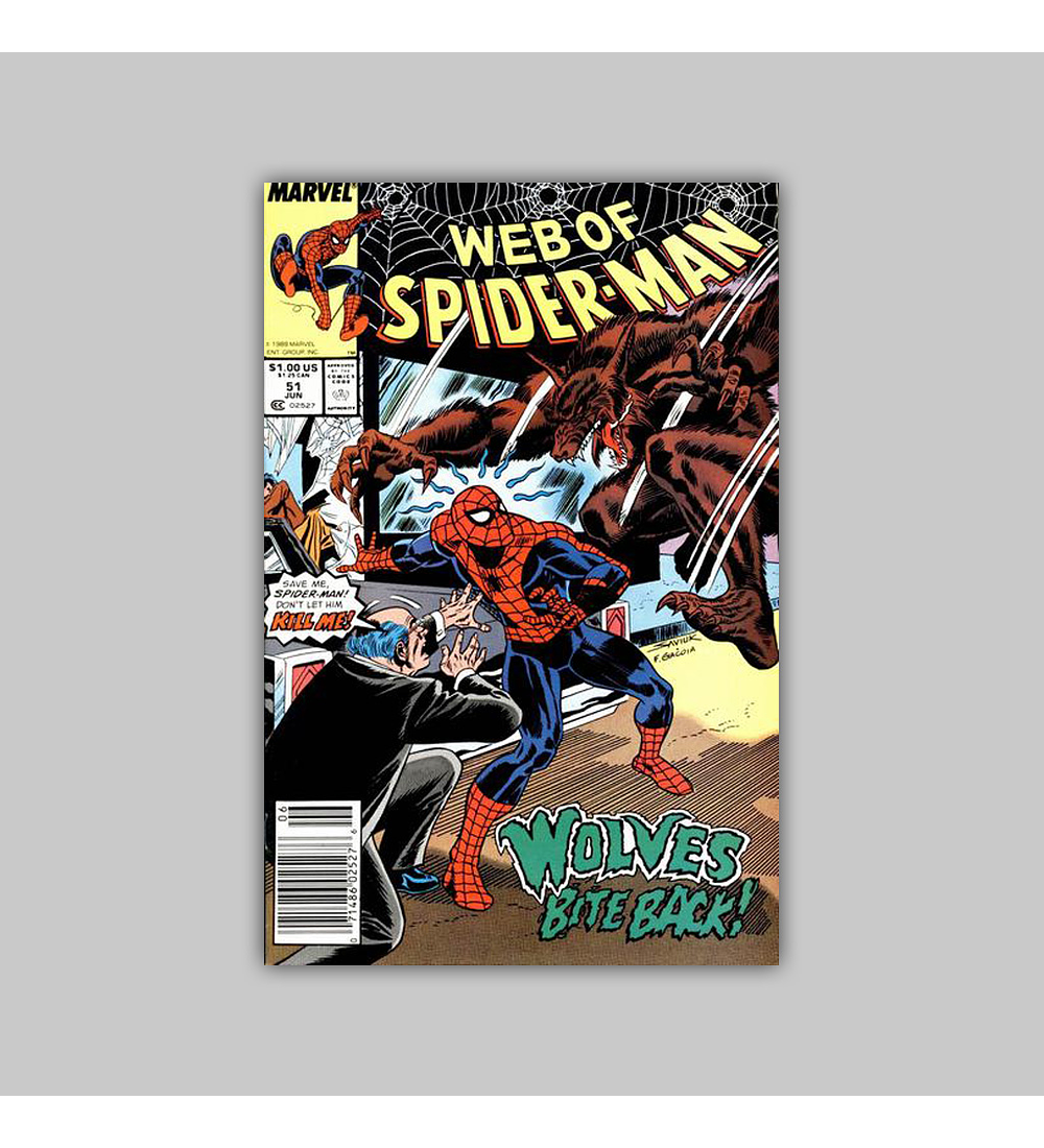 Web of Spider-Man 51 1989
